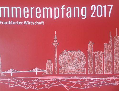 Sommerempfang 2017 für die Frankfurter Wirtschaft
